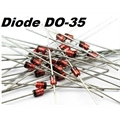 1N4148 - Diodo de Sinal,Diode Small Signal Switching 100V 0.3A 2-Pin DO-35