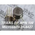 2N4427 - TRANSISTOR DE RF POWER LDMOS NPN VHF/UHF AM 1W 400MA TO-39