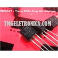 2N6027 - TRANSISTOR Thyristor SCRs Prog Uni-Junction PUT 40V 5A 3-Pin TO -92
