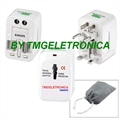 ADAPTADOR TOMADA PARA VIAGENS - World Travel Adapter retangular