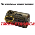 11A - BATERIA GP11A 6 VOLTS, High Voltage alkaline batteries, Ø10mm, Altura 16mm
