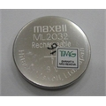 ML2032 - BATERIA LITHIUM 3V - 65MAh RECARREGAVEL,ML2032 3.0V Rechargeable Lithium Coin Cell