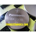 BR2330 - BATERIA Lithium Battery Coin 3V 255mAh High Voltage LITIO batteries, Not Reachable