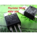 BTA10-400B -TRANSISTOR THYRISTOR TRIAC 400V 10A 3PIN TO-220AB