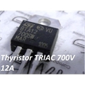 BTA12-700SW - TRANSISTOR TRIAC ALTERNISTOR 12A 700V TO220AB