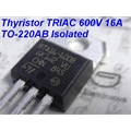 BTA16-600B - Thyristor TRIAC 600V 16A TO-220AB Isolated