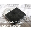 BTA41-600 - Thyristor TRIAC 600V 40A 3-Pinos TOP3 Insulated