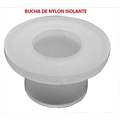 BUCHA ISOLANTE EM NYLON High Temperature FURO INTERNO Ø3mm  - PARA TRANSISTORES