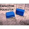 1uF,1mF - 250V - CAPACITOR POLIESTER RADIAL ,Capacitors Metallized Polyester Film(MKT)