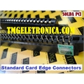 CONECTOR EDGE FEMEA, - 44PINOS PASSO 3,96Mm, Edge Connectors - Edgeboard,Standard Card Edge Connectors