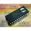 D71054C - CI PROGRAMMABLE TIMER COUNTER NEC 24 PINOS