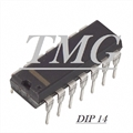74HC73 - CI Flip Flop JK-Type Neg-Edge 2-Element 14-Pin PDIP