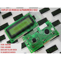 DISPLAY LCD 16 X 2 - Display LCD com Backlight Alphanumeric Yellow-Green 16 Caracteres por 2 Linhas - 16 CONTATOS