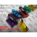 Fusivel Lamina,fusível Automotivo MAX  30Mm X 10Mm, Fuse MAXI, Blade Fuses Automotive Car Truck ,Car Audio and Video,Fuse - 20 Á 100 Amperes  / 32Vdc