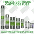 Fusível Cartucho 10x38mm - Fuse, Cylinder, Retardo, Time Delay/Slow Acting, Cartridge, 380Volts