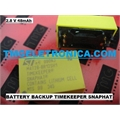 M4T28-BR12SH1 - Bateria M4T28BR12SH1 Backup 2,8V 48mAh, BATTERY BACKUP POWER FOR. NON-VOLATILE Lithium Power Source Timekeeper Snaphat - 4PINOS