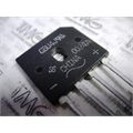 GBU4J - PONTE DE DIODO RETIFICADORA, BRIDGE RECTIFIER Single 600V 4A