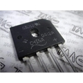 GBU6D - PONTE DE DIODO RETIFICADORA, BRIDGE RECTIFIER Single 200V 6A