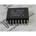 SSM2142 - CI Audio Amplifiers BALANCED LINE DRIVER, 2142, SOIC16
