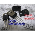 BTA08-600 - TRANSISTOR THYRISTOR TRIAC 600V 8A 3-Pin TO-220AB