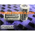 CR14250-SE 3V - Bateria 3Volts Lithium,CR14250 Batteries - Non-Rechargeable Batteries 850 mAh SANYO/FDK Medida 14,5Mm x 25,2Mm