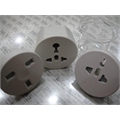 ADAPTADOR TOMADA PARA VIAGENS - World Travel Adapter redonda
