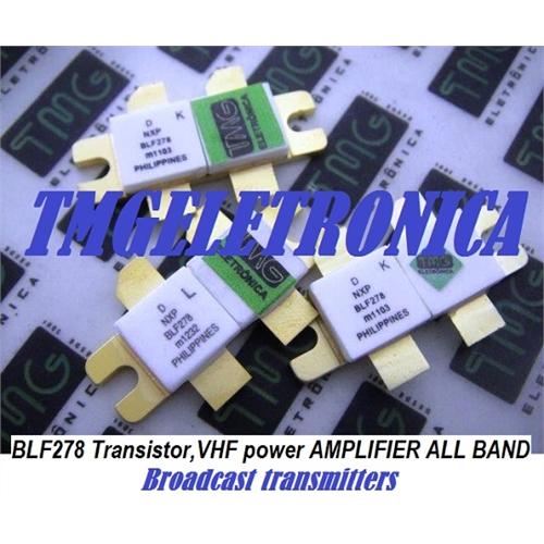 BLF278 - Transistor RF POWER MOSFET BLF-278, VHF push-pull power MOS