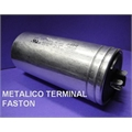 82UF / 440VAC - CAPACITOR DE PARTIDA METALIC TERM. FASTON