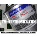 30UF - CAPACITOR DE PARTIDA METALIC 30UF 550VAC , GE GENERAL ELECTRIC  GENTEQ TERM FASTON