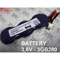 3GB280-F - BATERIA 3,6V TIPO Mitsubishi Battery NiMH RECHARGEABLE PLC  Programmable