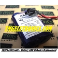 3HAC044075-001 - BATERIA ABB Robot Battery ROBOTICS 3HAC044075 7.2V. 17Ah, ABB Industrial Robot Battery type 3HAC044075-001/01 for ABB Robots