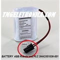 3HAC051036-001 - BATERIA ABB Robot Battery ROBOTICS 3HAC051036  3,6V. 7,2Ah, ABB Industrial Robot Battery type  3HAC051036-001 - BATTERY BACK-UP PACK ABB Robots