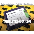 BATERIA 18V Ni-MH 4500mah Rechargeable Battery Pack Tipo Tijolo