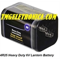4R25 - Bateria 6 Volts - Super Heavy Duty Para Lanterna / Battery 4R25 Heavy Duty 6V Lantern Battery