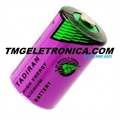 Bateria LITHIUM 3,6v Alta Temperatura size 1/2AA 3.6v, High Temperature Primary Lithium Battery NOT Rechargeable - 55°C Á 130°C
