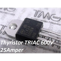 BTA24-600BW - Thyristor TRIAC 600V 25A 3-Pinos TO-220AB Insulated