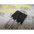 BTA41-800B - Thyristor TRIAC 800V 40A 3-Pinos TOP3 Insulated