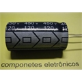 10000UF 16V - CAPACITOR ELETROLITICO RADIAL, Aluminum Electrolytic Capacitors 85°C 20X35Mm