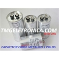 50UF - CAPACITOR DE PARTIDA 380VAC METALIC TERM FASTON