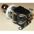 Chave de Efeito 2DPDT para Pedaleira 6pinos, 2 DPDT Momentary Mini DPDT Momentary ON (ON) Guitar Effects Pedal Box Stomp Foot Switch
