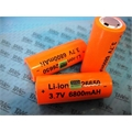 CR26650 - BATERIA 3,7V  LI-ION 6800Mah - med.26Mm x 65Mm