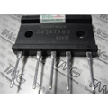 D45XT160 - Ponte Retificadora 45A 1600V  3FASES, Bridge Rectifiers Bridge 3 Phase Shindengen America - 5Pinos
