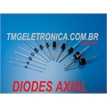 1N5406 - Diodo Switching Standard Power Diode, Single,  3A, 600V 3Amper 2-Pin DO-201