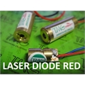 LASER DIODE RED 6Mm X 14Mm - 3V 650nm, 5mW Red Laser Diode - Golden High performance