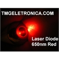 LASER DIODE RED 8Mm X 23Mm - 3V 650nm, 5mW Red Laser Diode - Golden High performance