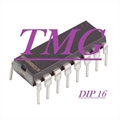 4076 - CI Flip Flops 3-18V 4-Bit D-Type w/3-State Out LOGIC, D-TYPE REGISTER 4BIT, 16DIP