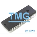 27C020 - CI EPROM IC ONE TIME PROGRAMMABLE (OTP) EPROM IC, Memory, 32-Pin PDIP