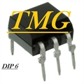 TIL111 - CI Optocoupler White DC-IN 1-CH Transistor With Base DC-OUT 6-Pin DIP