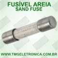 Fusível Areia 5x20mm - Fuse, Cylinder, Time Delay/Slow Acting, Retardo, Sand, 250Volts