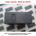 Relé 24VDC - G2RL-1-DC24, 24VOLTS - Relê 24V, 12A, General Purpose Relays SPDT 24VDC Class F Flux Protect GP Type, 1.44 kOhms, OMRON